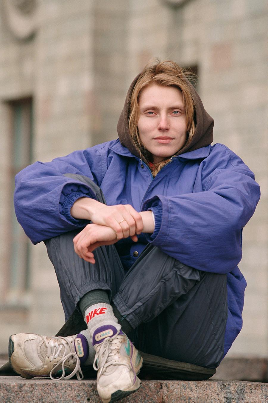 L'athlète Irina Privalova
