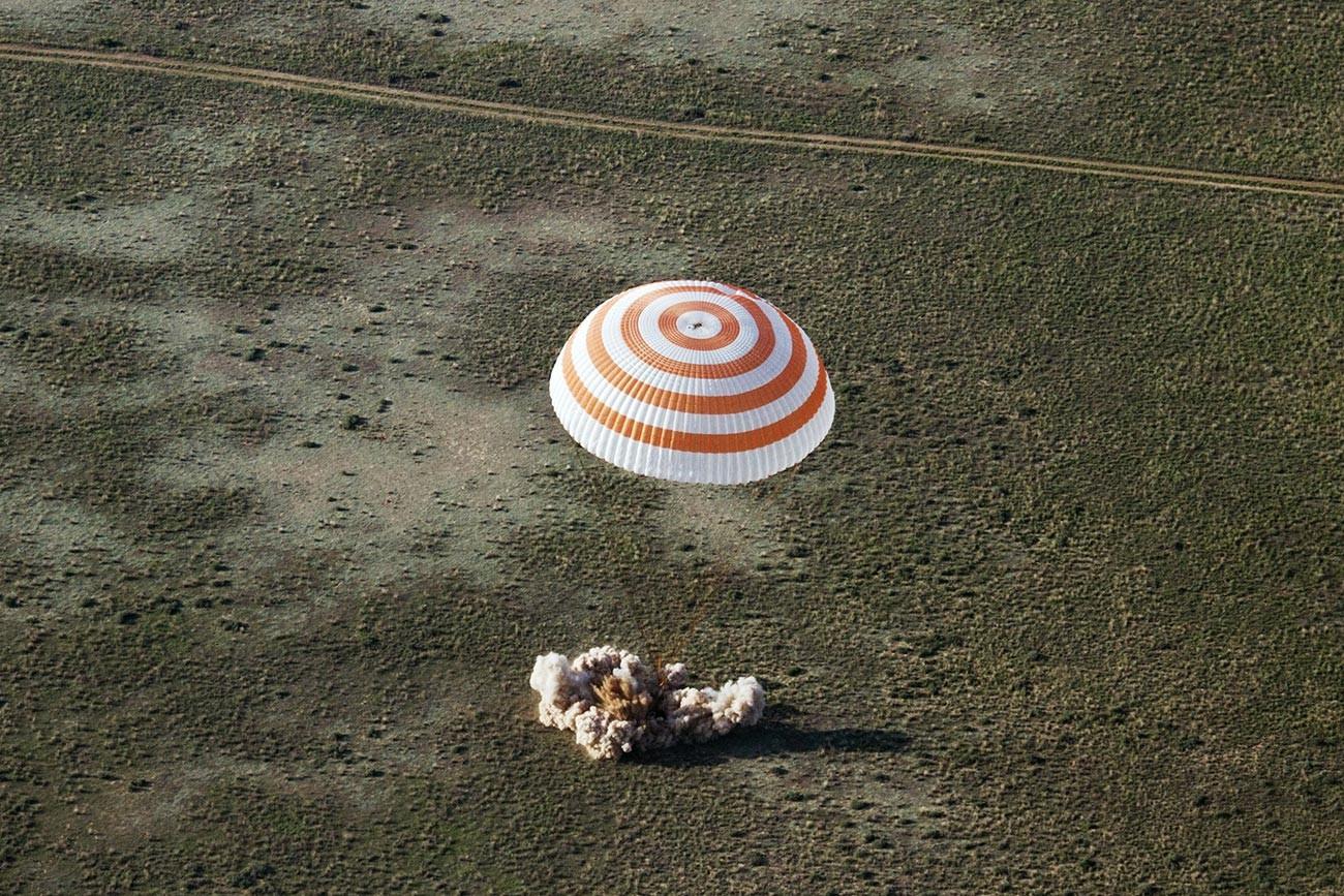 Kapsula s padalom ladje Sojuz