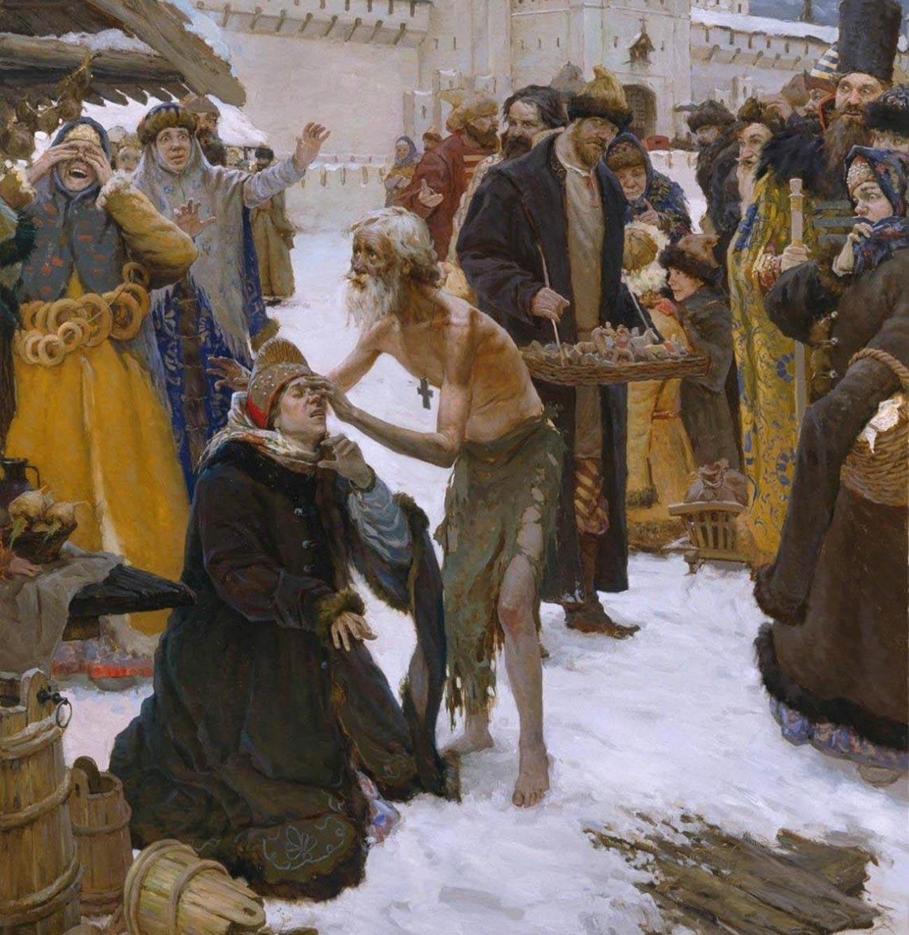 «Московский чудотворец Василий Блаженный», Графов Виталий Юрьевич, 2006.