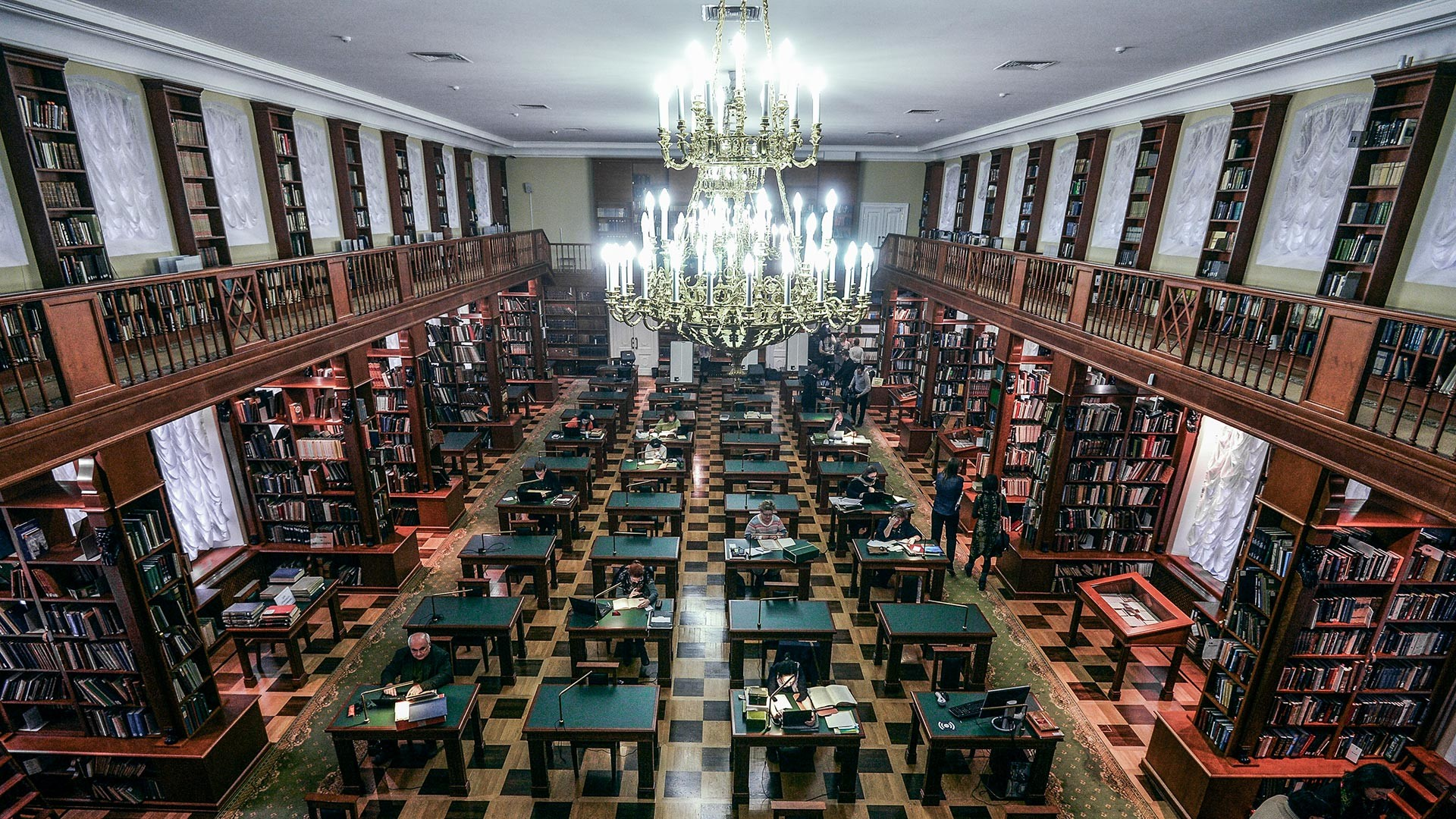 8 most beautiful Russian libraries