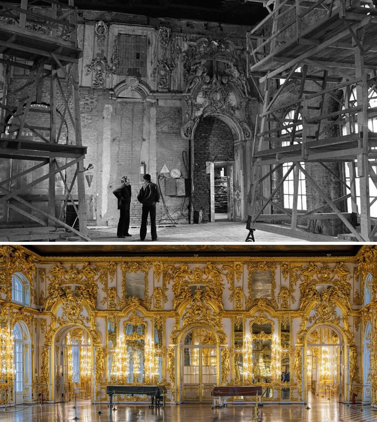 エカテリーナ宮殿の大広間