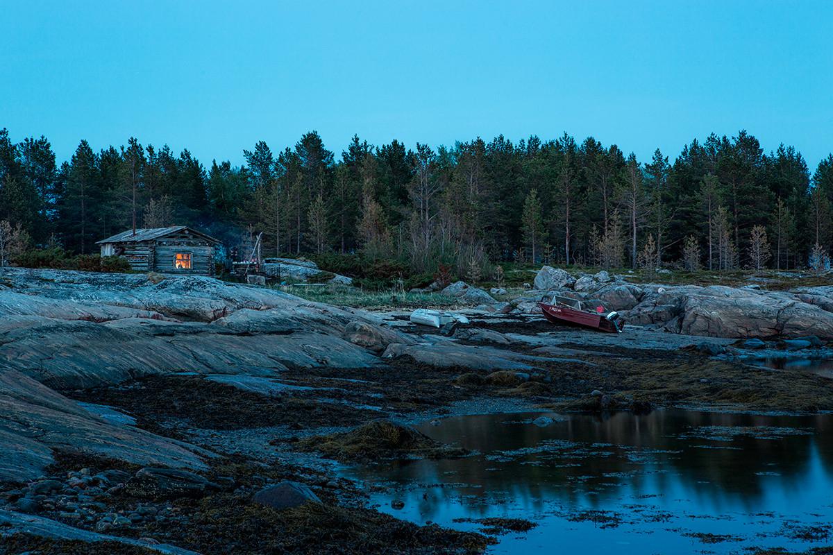 White Sea in Karelia.