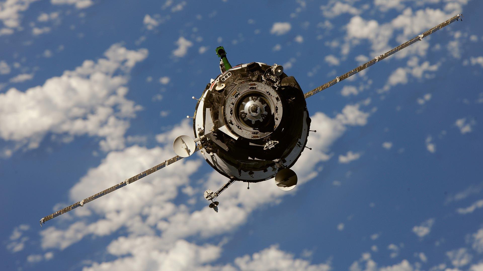 Soyuz TMA-01M.