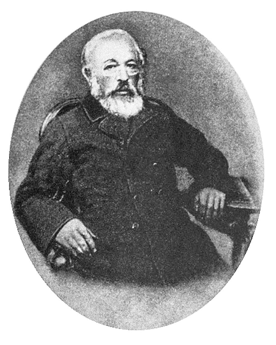 レーニンの祖父アレクサンドル・ブランク