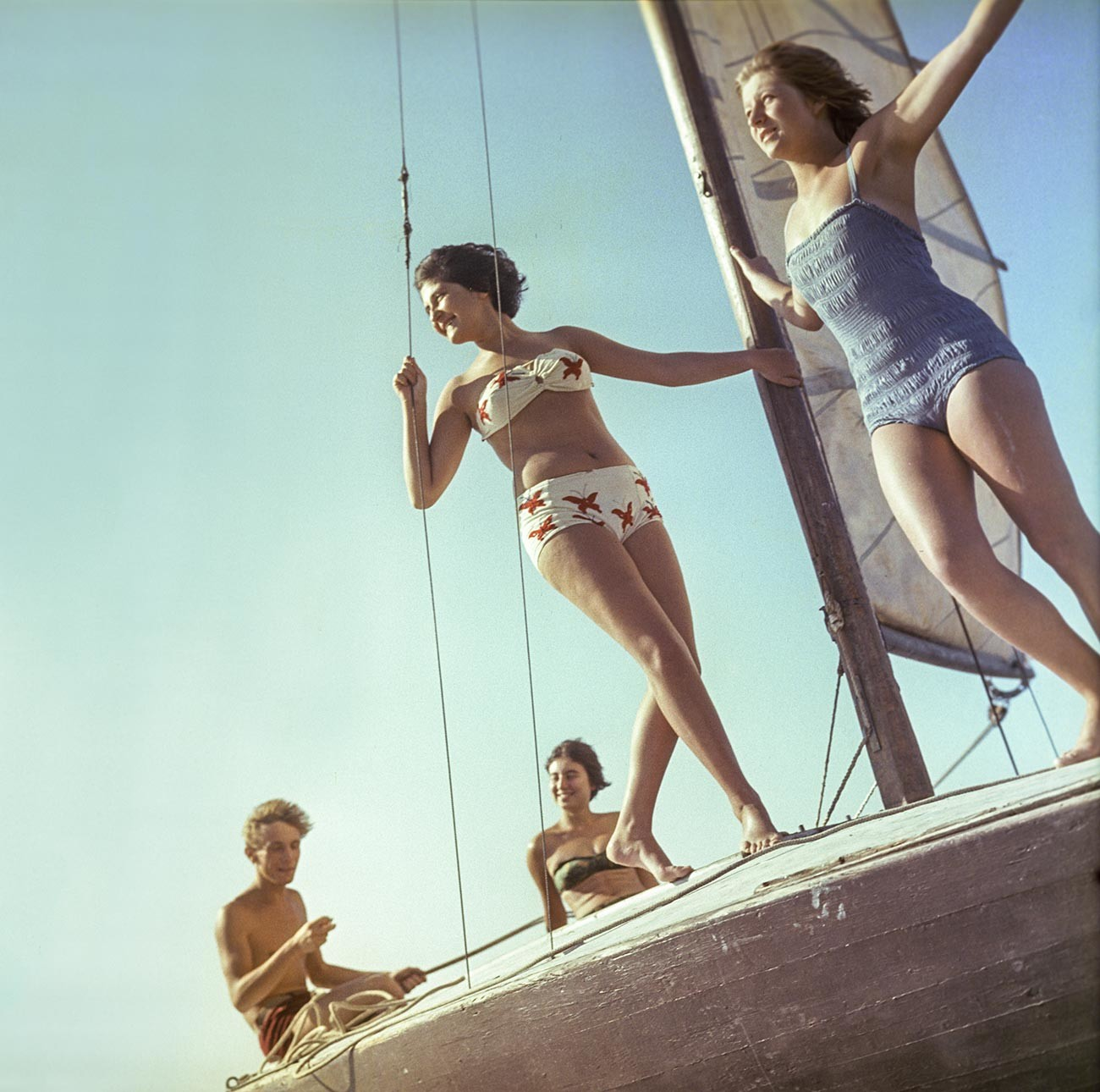 Yacht outings, 1963
