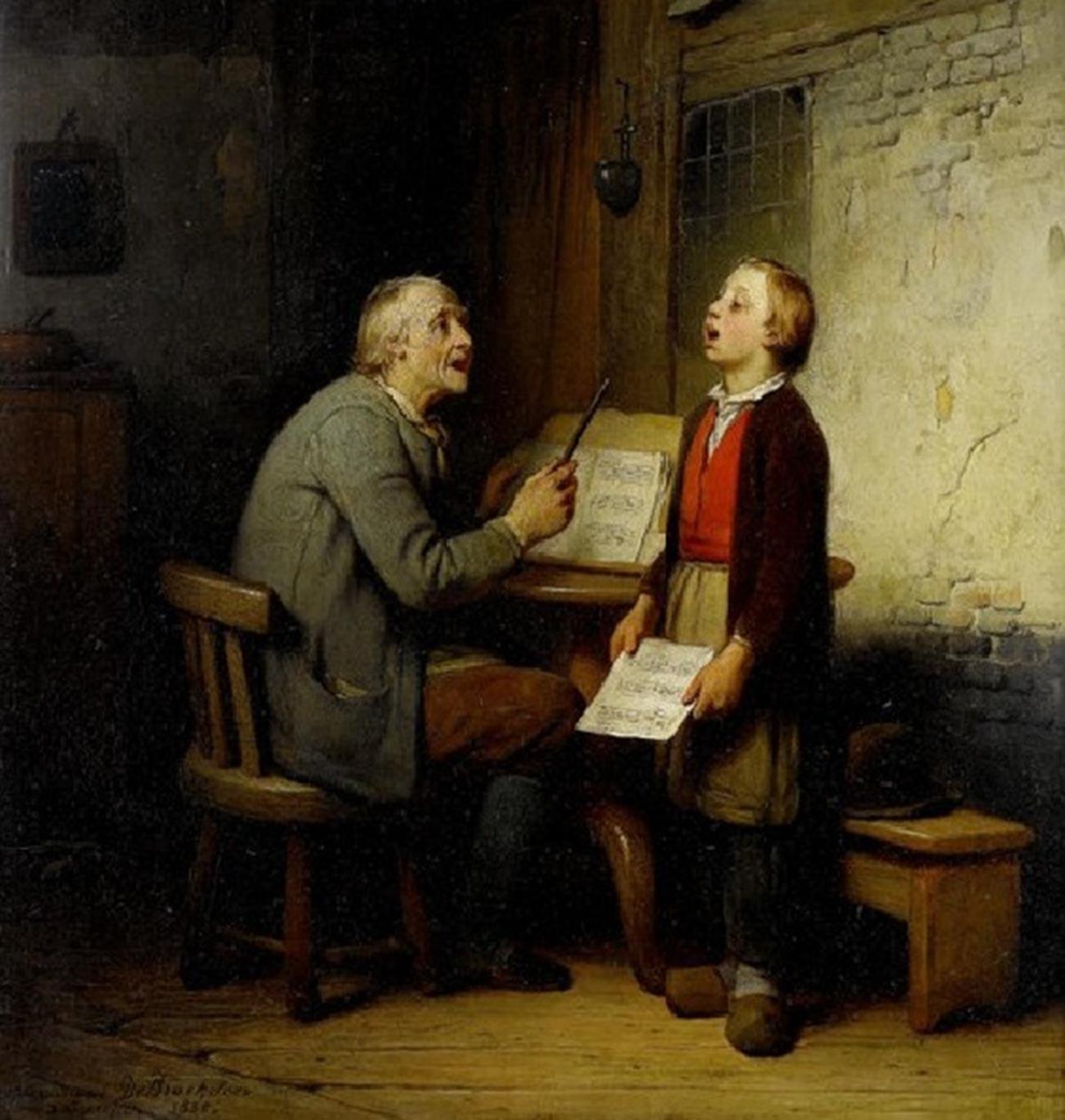 Lezione di canto