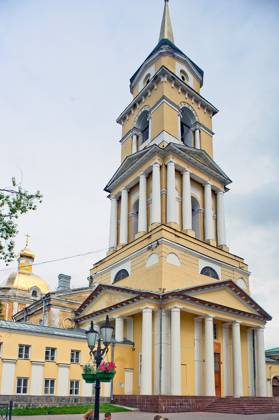 Bell tower of the Cathedral of the Transfiguration of the Savior. June 15, 2014