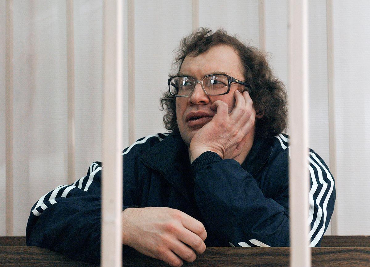 O anúncio da pena de Mavródi ocorreu em Moscou.