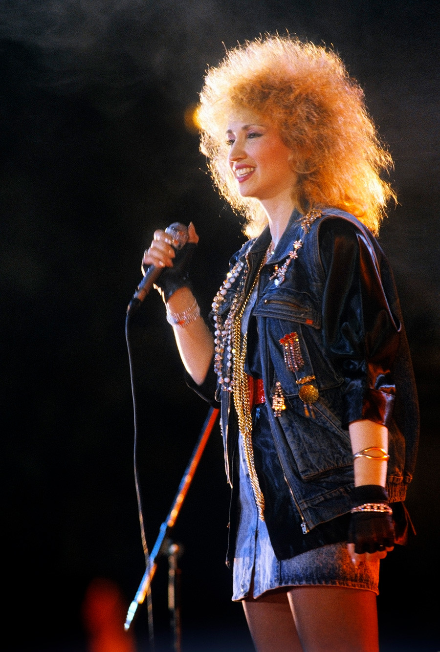 Singer Irina Allegrova.