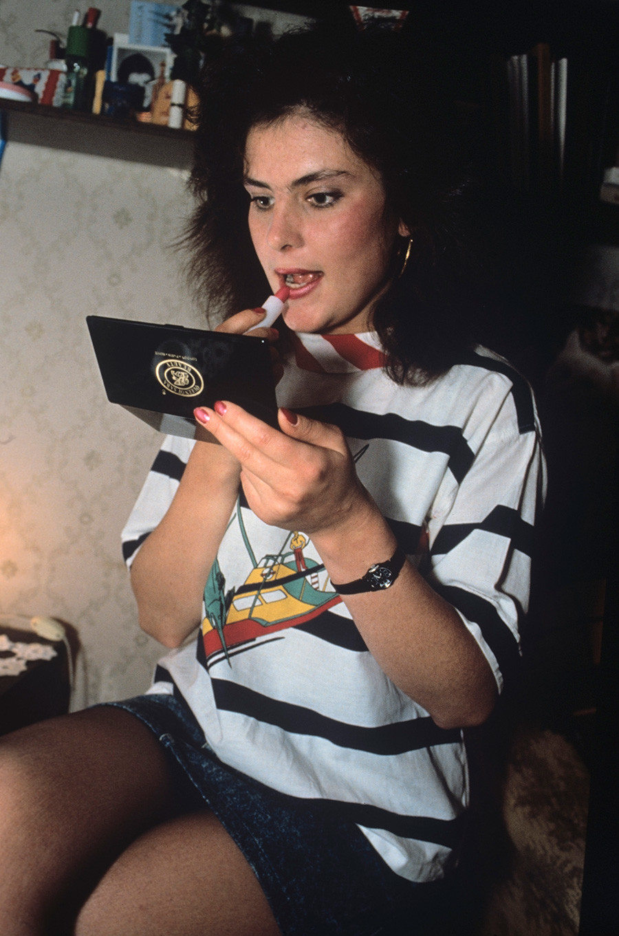 Ekaterina Mayorova, Miss KGB 1990.