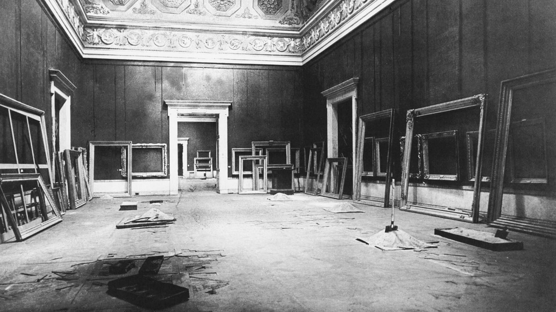 El Museo del Ermitage durante la Segunda Guerra Mundial