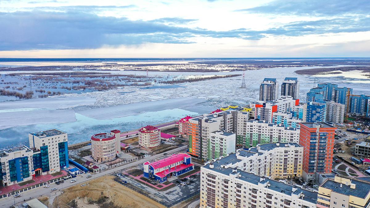 Pemandangan Sungai Lena, Yakutsk