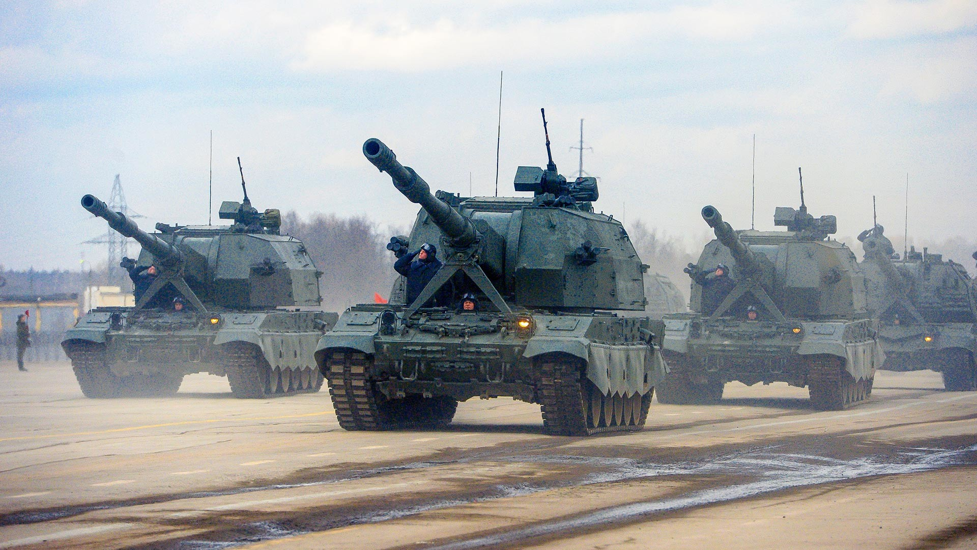 国産自走砲コアリツィヤSV