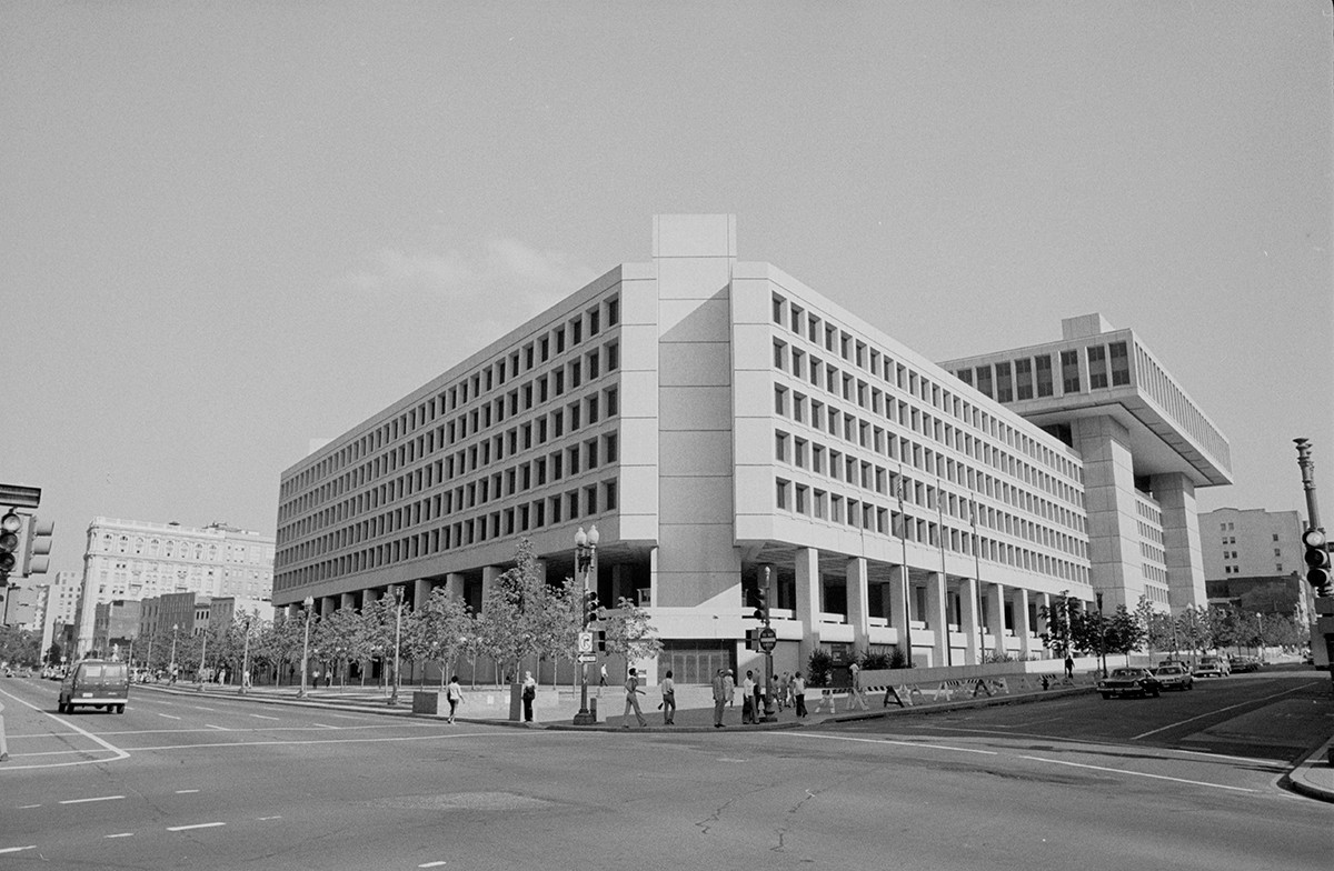 Siège du Federal Bureau of Investigation (FBI) à Washington