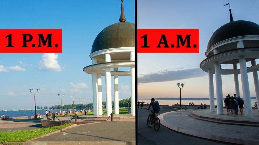 Tako izgleda Petrozavodsk poleti.