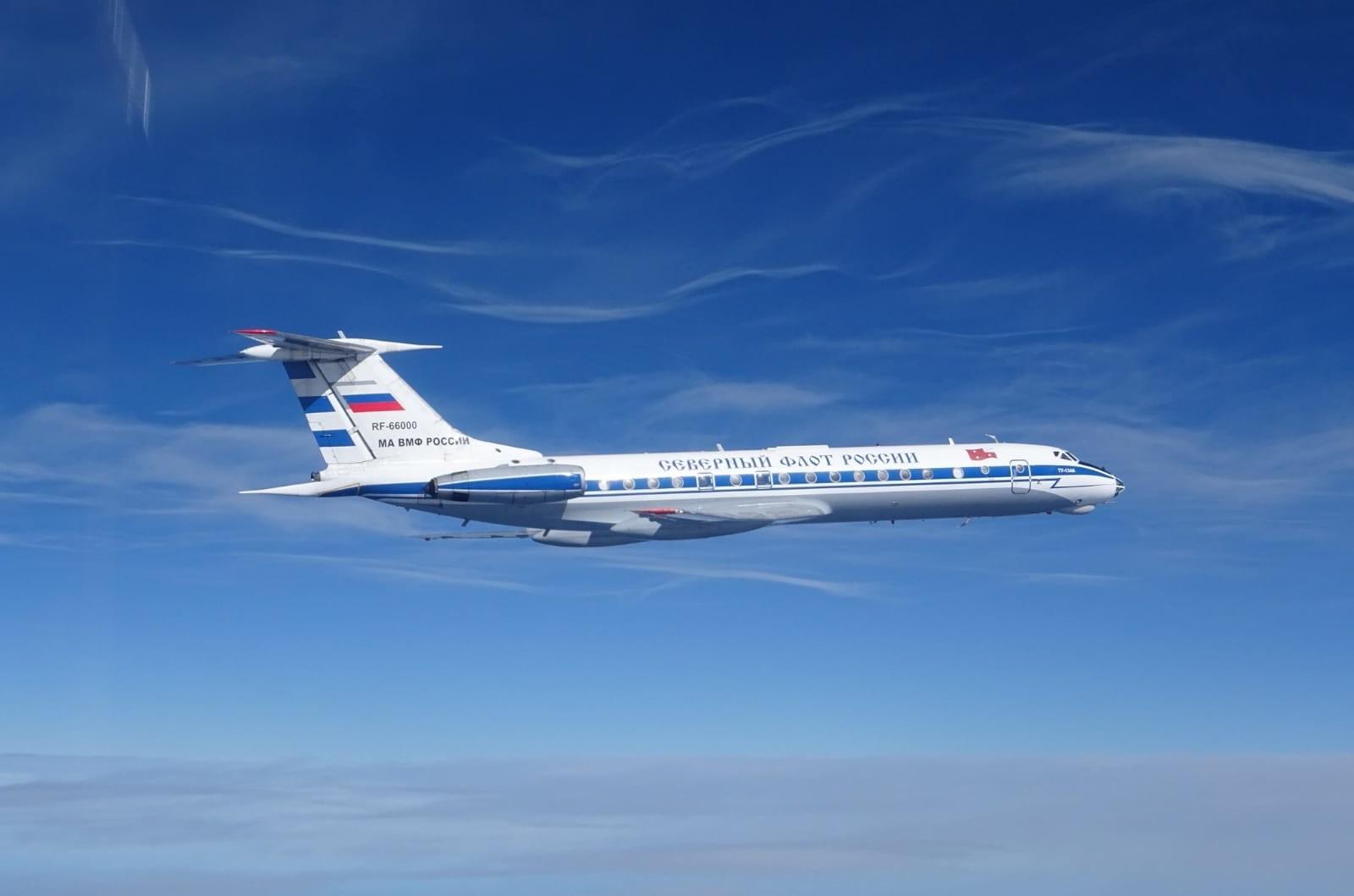 Tupolev Tu-134AK de la Flota Aérea del Norte de Rusia, concretamente el RF-66000. Se trata de un avión de transporte de personalidades.