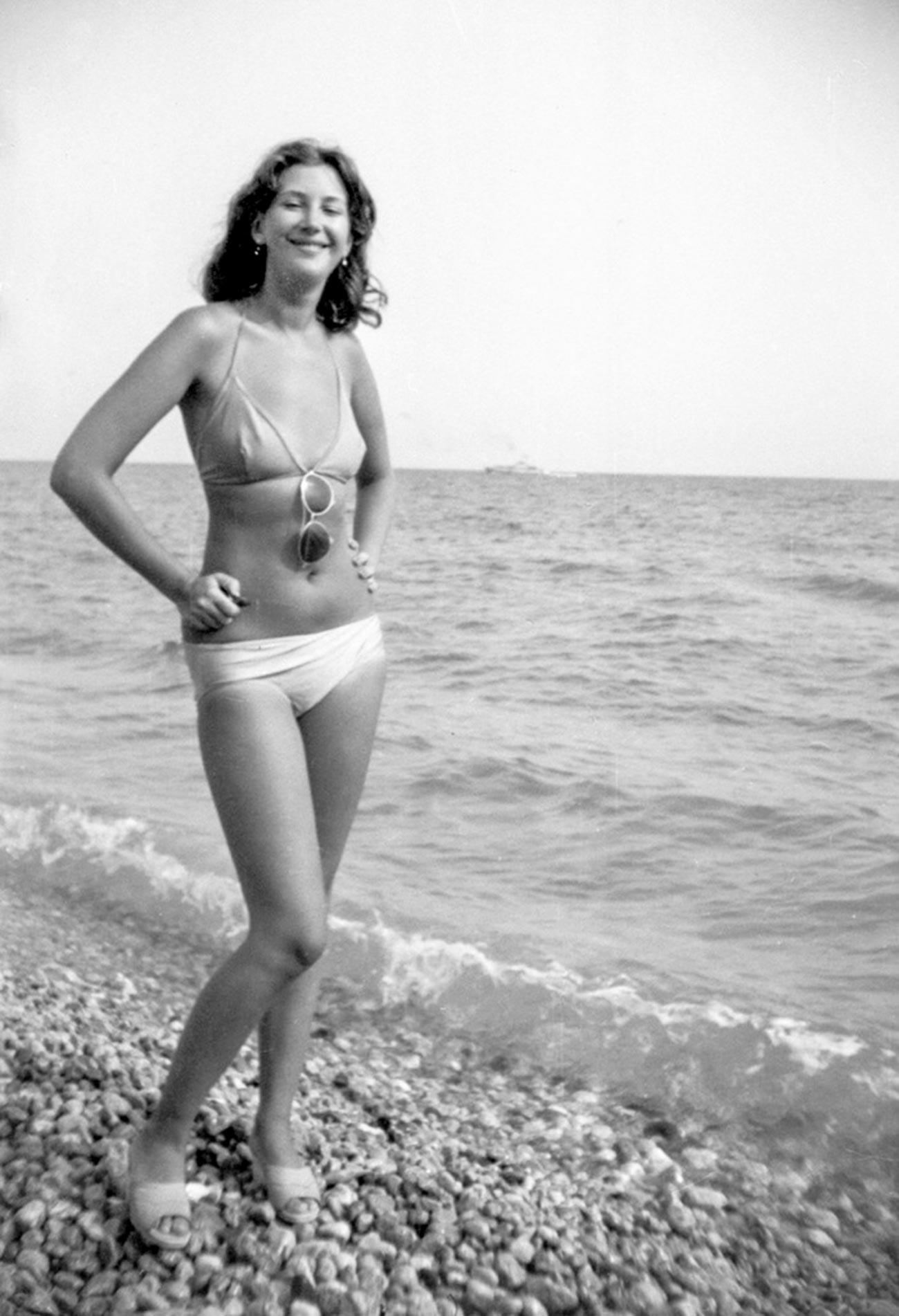 Di pesisir Laut Hitam, 1982.