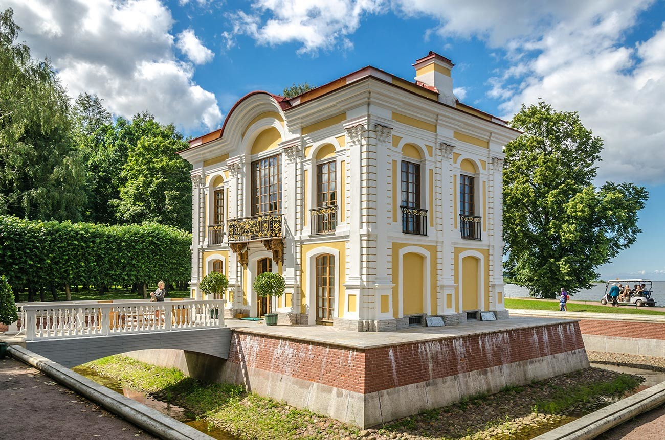 The Hermitage in Peterhof