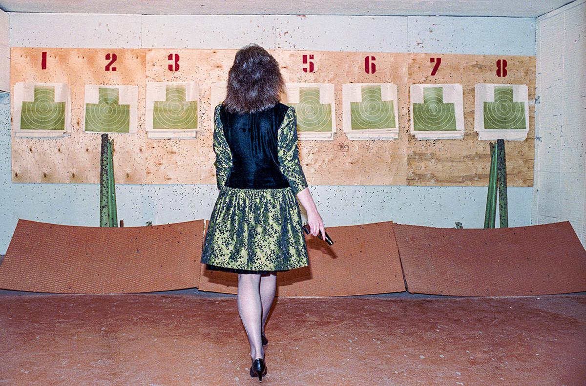 Miss KGB-ja Jekaterina Majorova, objavljeno 1. 11. 1990, Moskva, ZSSR