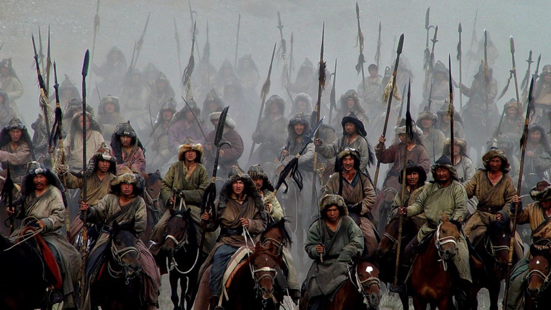 "Cadre du film ""Mongol"" de Sergueï Bodrov"
