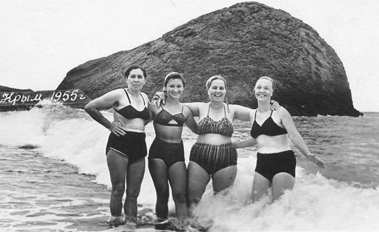Urlaub auf der Krim, 1955