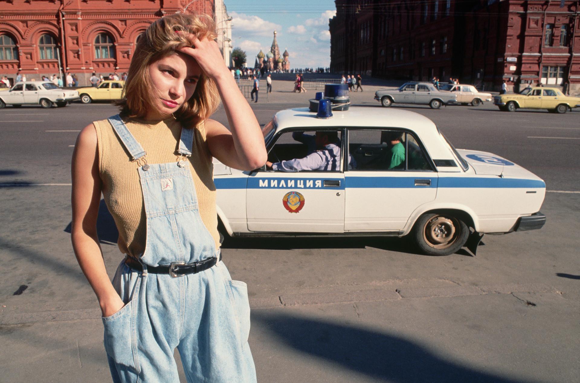 Moskva leta 1991.