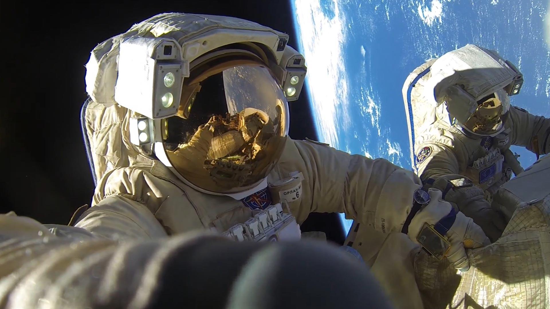 Космонавтите на