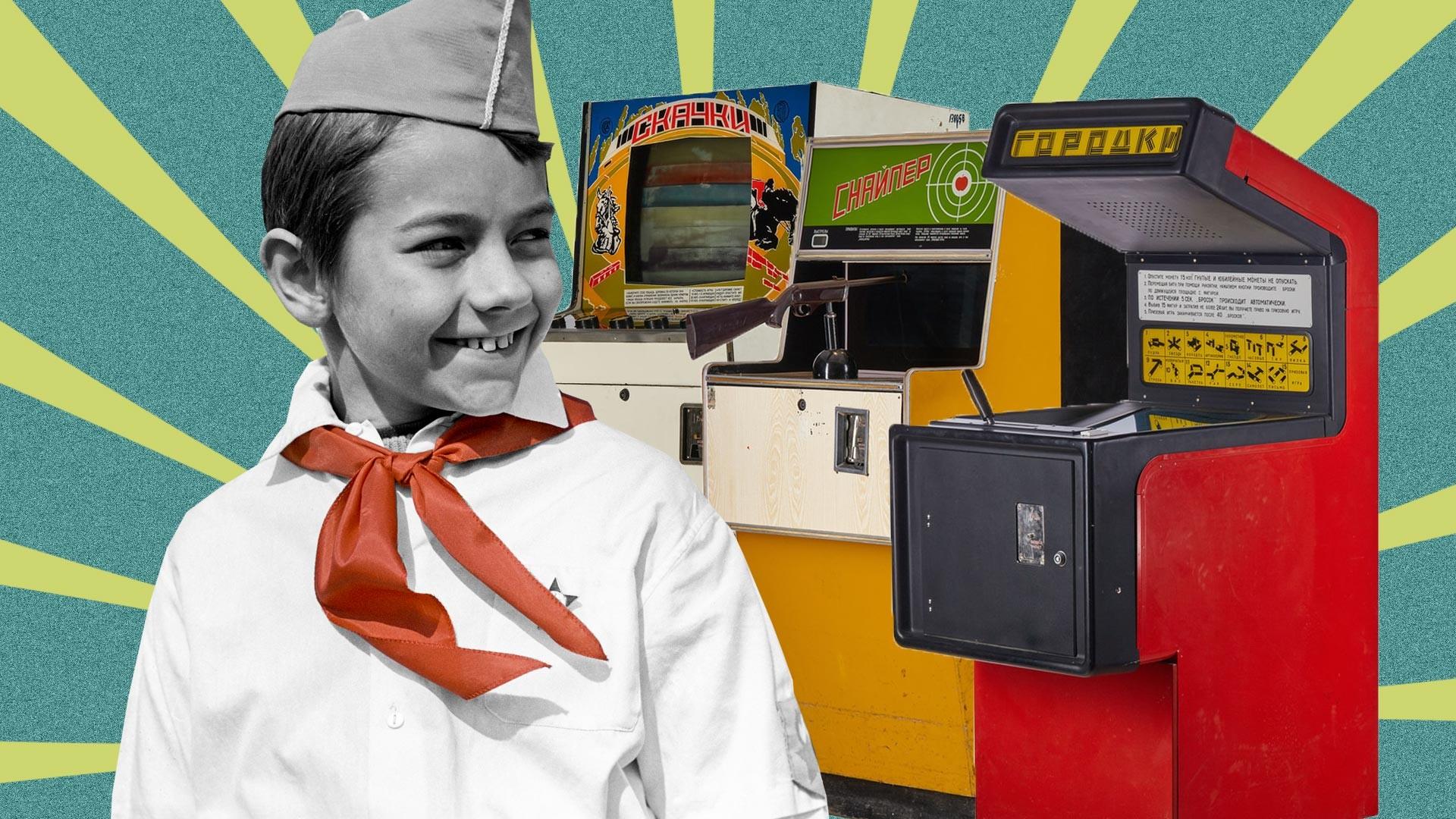Детские игровые автоматы советские глобал слотс онлайн