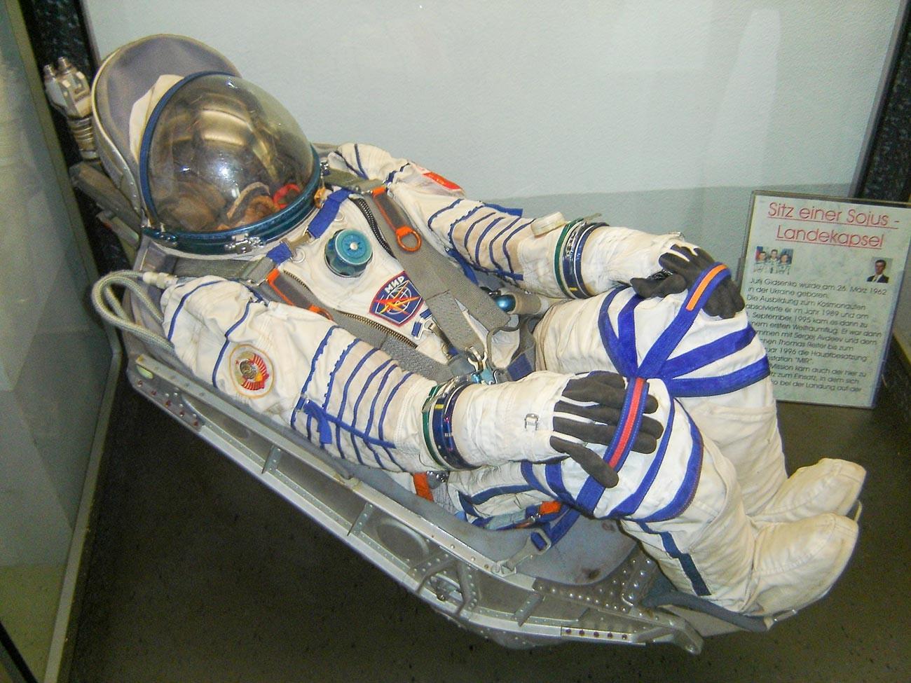 「ソユーズ」の着陸カプセル