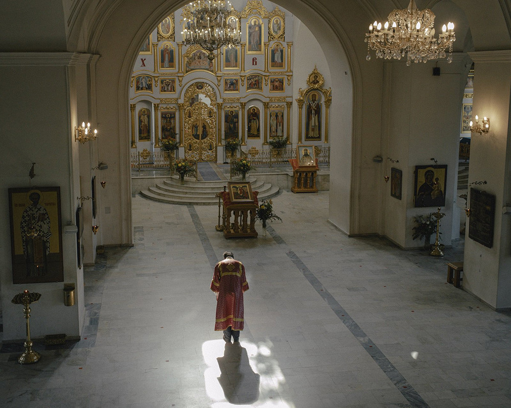 The Church of St. Nicholas on Three Hills