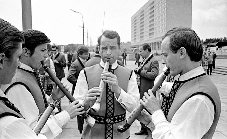 Литовский ансамбль песни и танца «Летува», 1974 г.