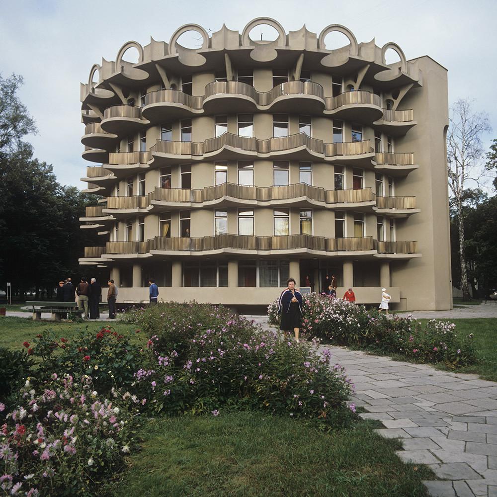 Санаторий «Пушинас» в литовском городе Друскининкай, 1986 г.