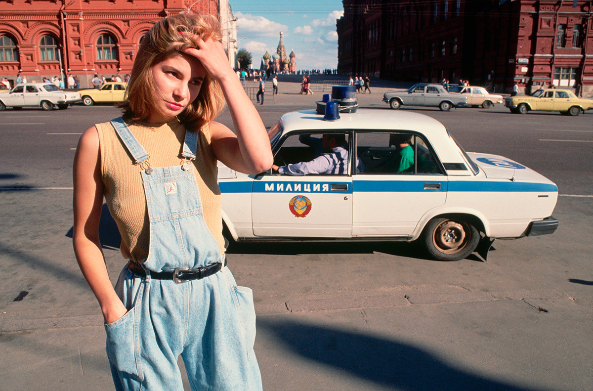 A prostitute in Moscow, 1991