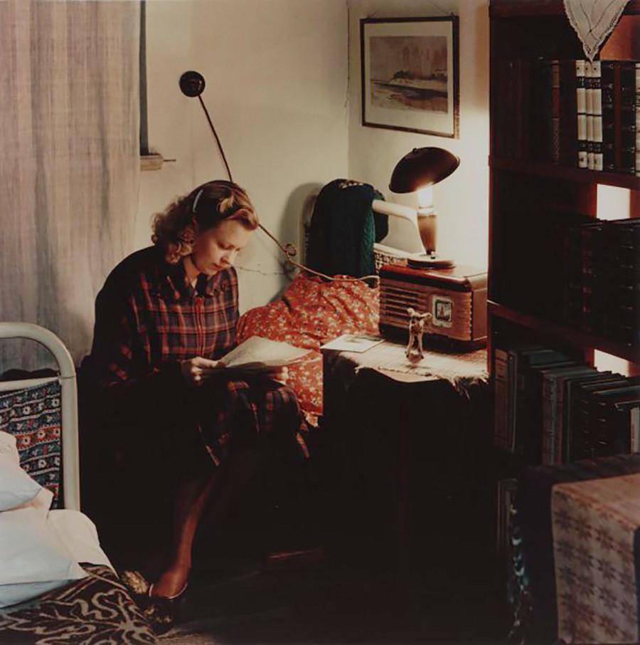 В общежитии Тартусского университета, Эстония, 1960-е гг.