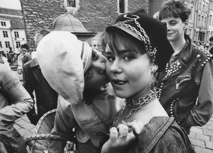 Металлисты в Таллине, 1982 г.