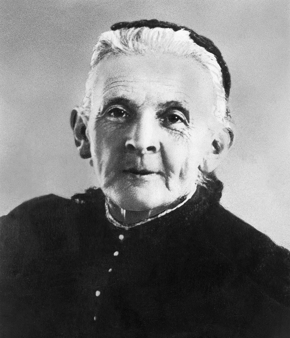 Marija Aleksandrovna Blank (Uljanova) (1835-1916), la madre di Vladimir Lenin