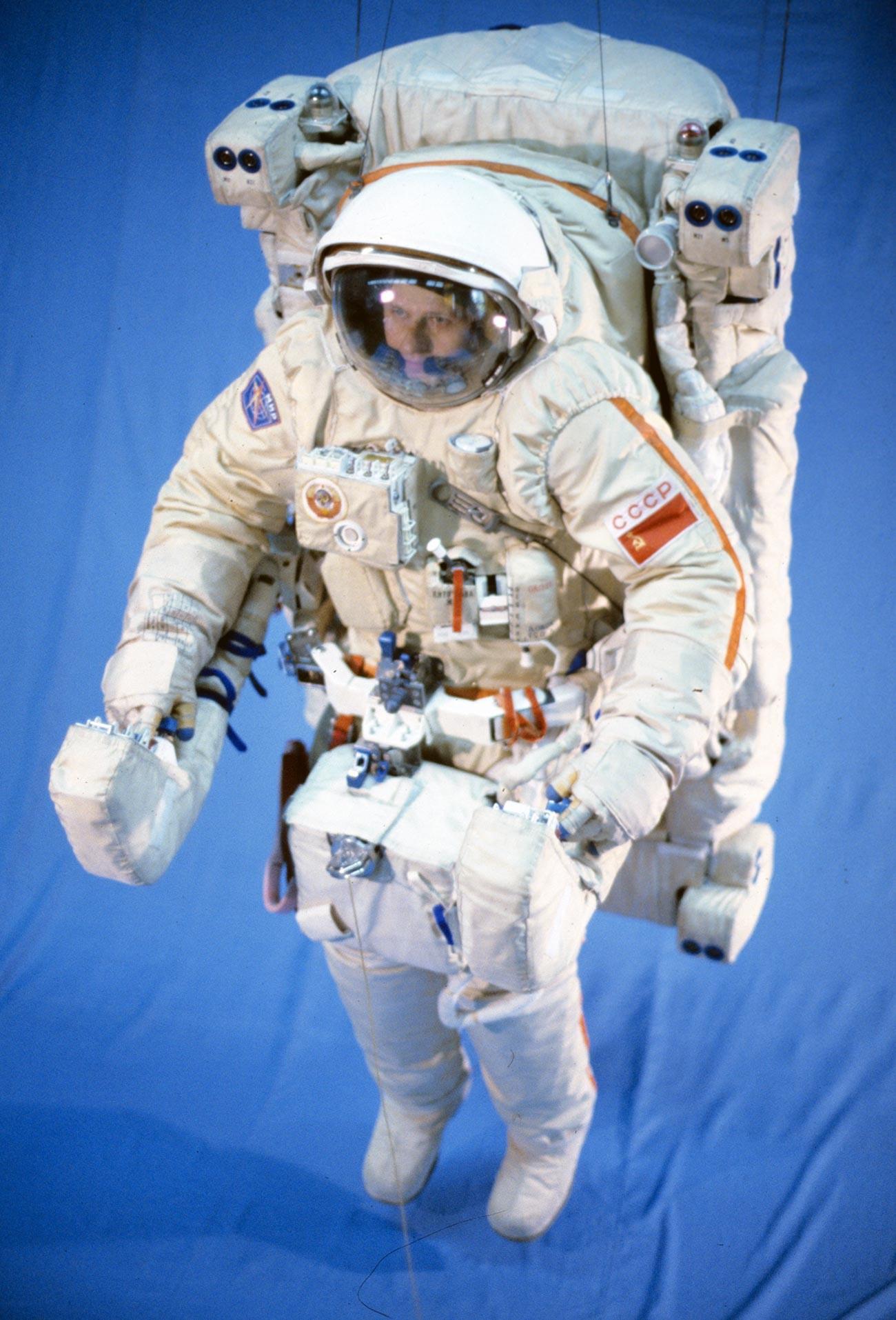 Orlan-Kosmonautenanzug