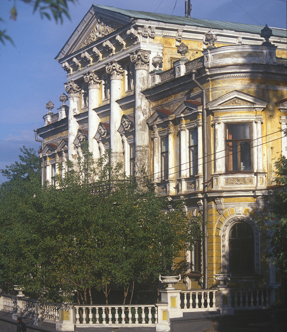 Maison de Mechkov, façade principale