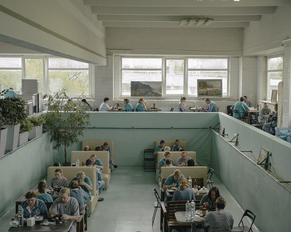 Réfectoire d'un hôpital
