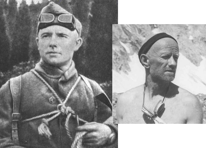 Vitali (à droite) et Evgueni (à gauche) Abalakov