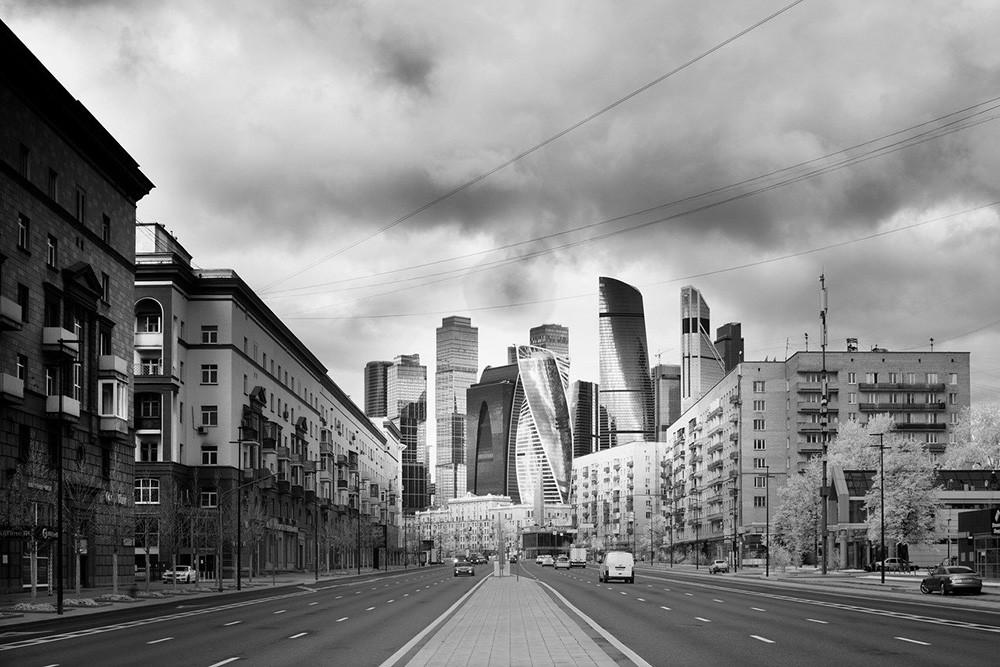 El centro de negocios Moscow City.