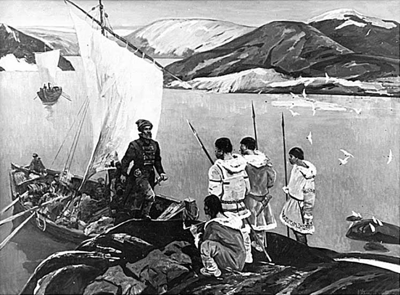 Moreplovci, istraživači novih teritorija.