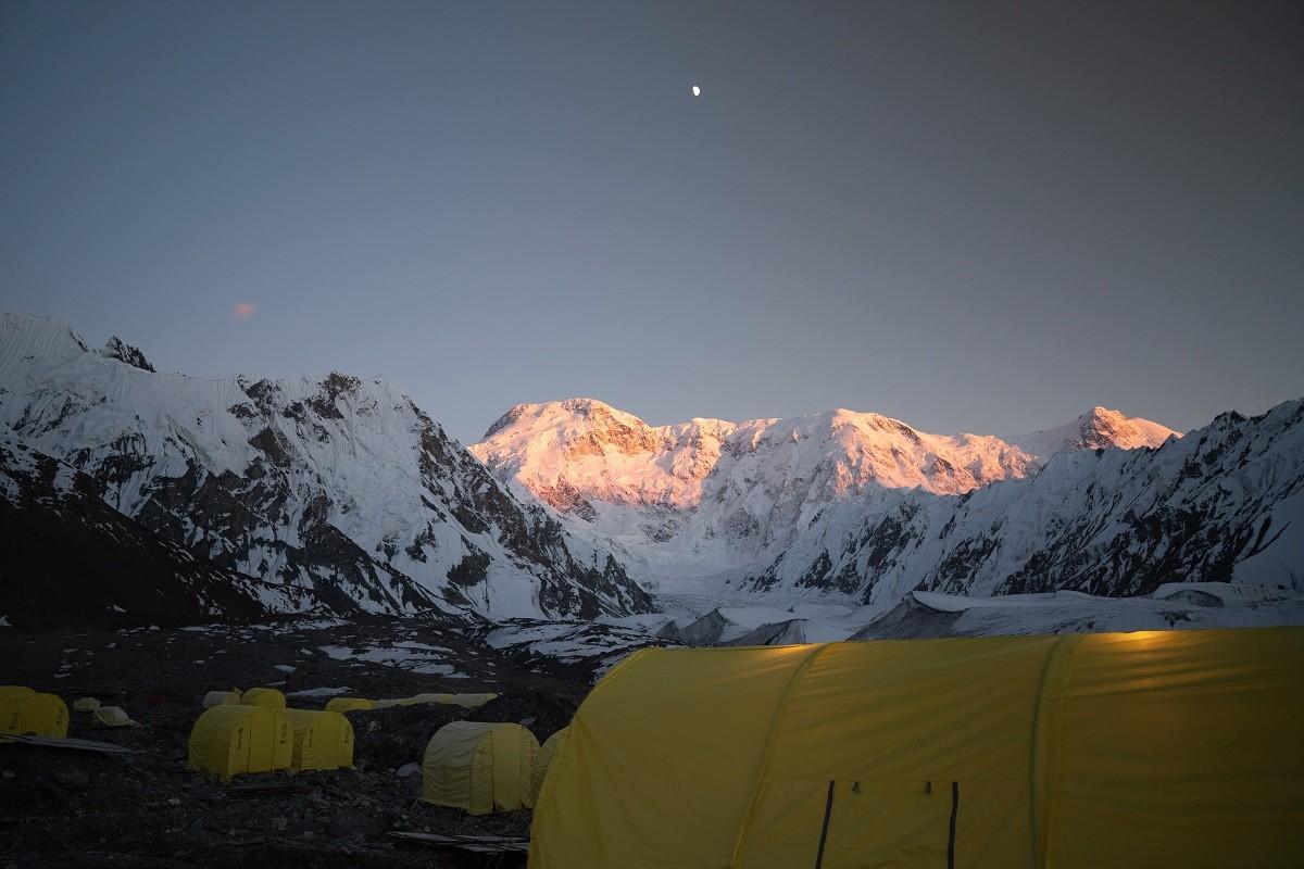 Photo réalisée par l'écrivain lors de son expédition dans les Monts Célestes, en Asie centrale