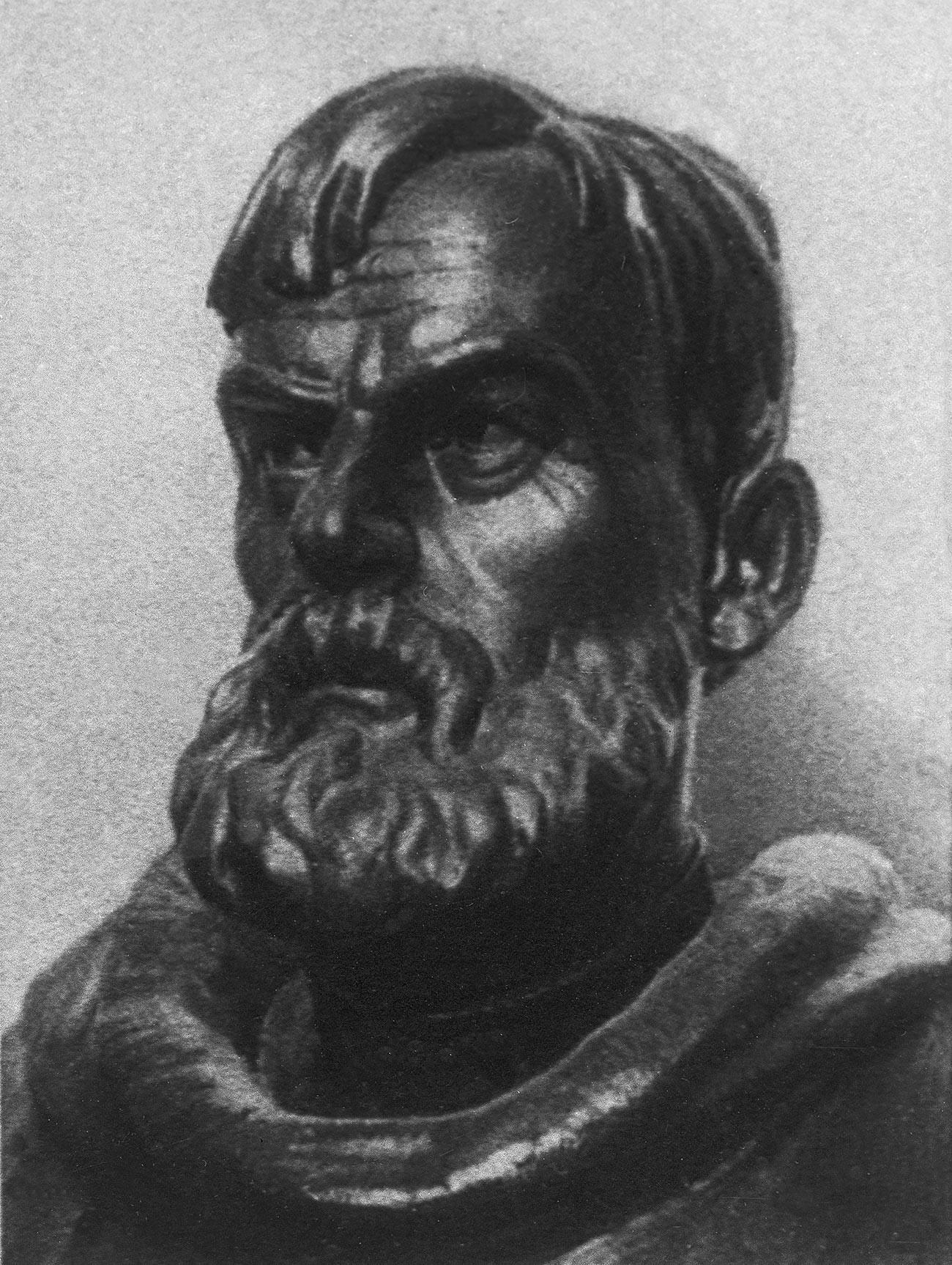 Russian explorer Semyon Dezhnev