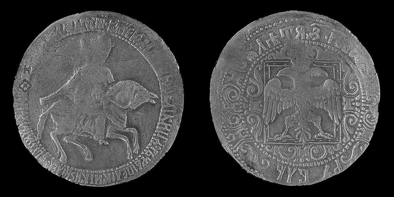 Rubelj carja Alekseja Mihajloviča (1654)