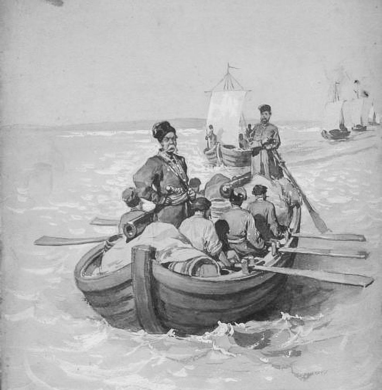 Die Expedition Semjon Iwanowitsch Deschnjews 1645 oder 1648
