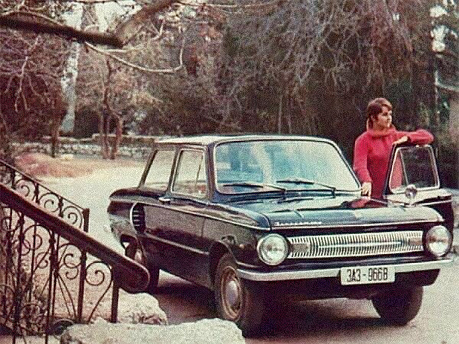 ZAZ-966Bの広告。1966–1972年