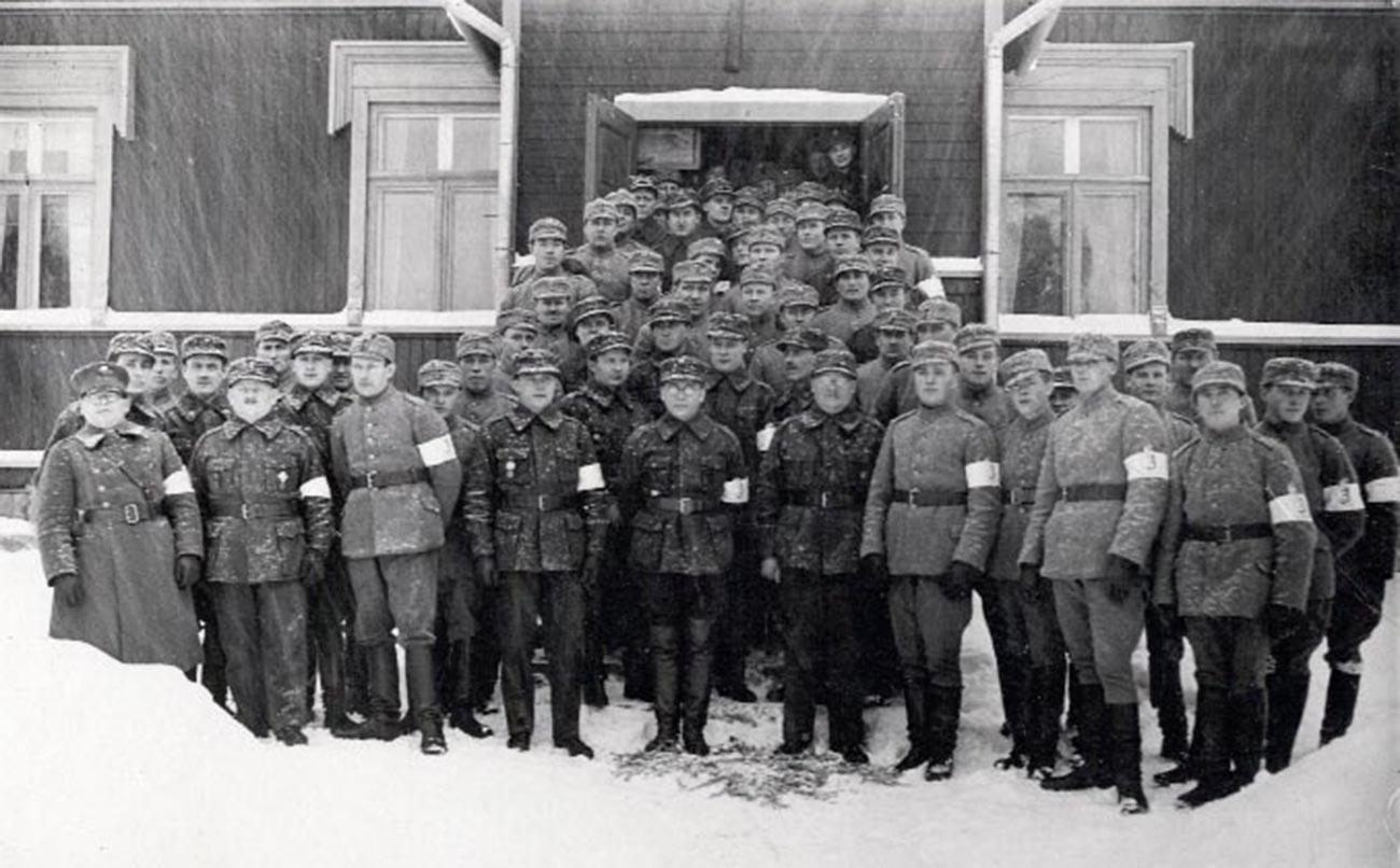 Garde blanche finlandaise à Nummi-Pusula, années 30