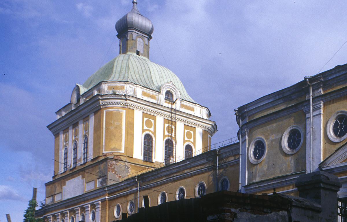 Katedrala Preobraženja Odrešenika, pogled iz severozahoda. 23. avgust 1999