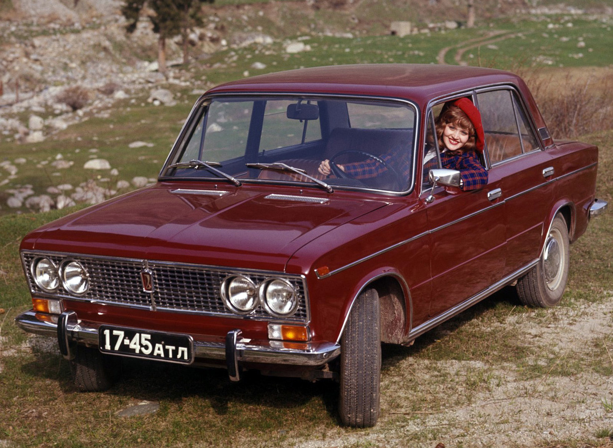 The 'VAZ-2103' sedan borrowed heavily from the Fiat '124'. The car was exported as the 'Lada 1500'.